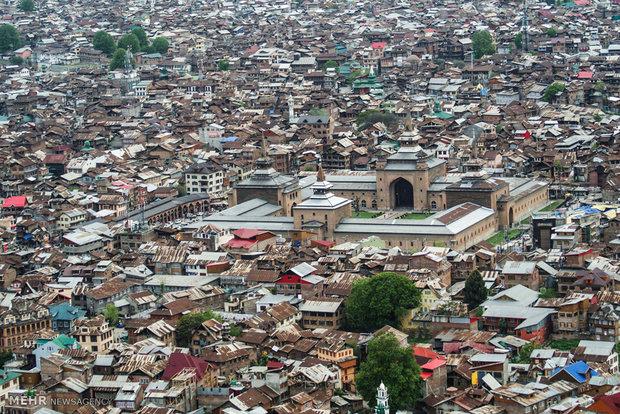 سرینگر شهری در کشمیر