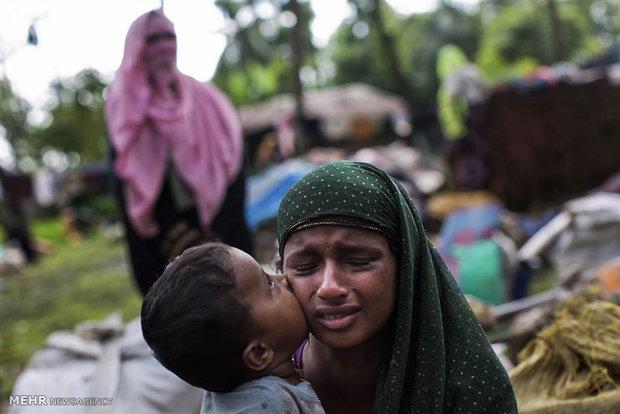 کوشت و بڕی موسڵمانانی میانمار پاکتاوی ئیتنیکیە