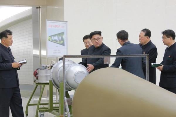شمالی کوریا کا بحرالکاہل میں ہائیڈروجن بم کا تجربہ کرنے کی دھمکی