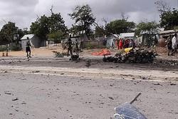 حمله انتحاری در سومالی