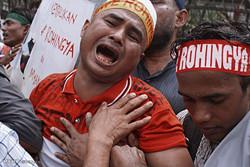 شمار مسلمانان روهینگیای وارد شده به بنگلادش از ۳۱۳ هزار نفر  گذشت