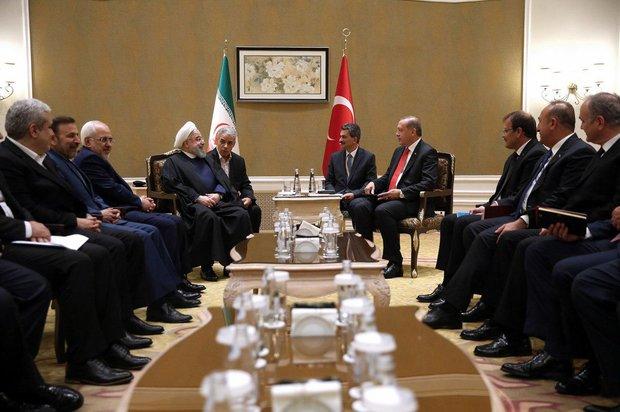 Rouhani, Erdogan talk Rohingya crisis, fighting terrorism