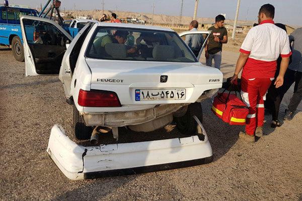 واژگونی مرگبار پژو حامل اتباع غیرمجاز در جاده ایرانشهر