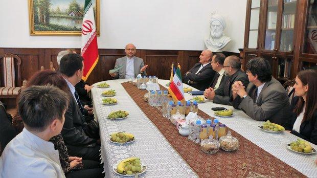 Bosnalı diplomatlar pekiştirilmek için Tahran'da