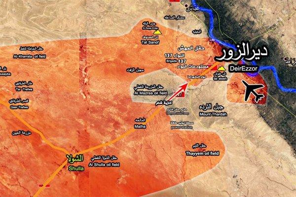 Suriye ordusundan Deyr ez Zor'un batısında büyük ilerleme