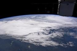 """تقرير مصور : بعض المشاهد من عاصفة """"إيرما"""" عبر الفضاء"""