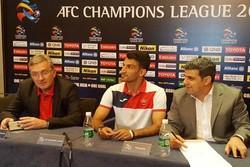 برانکو و ماهینی در نشست خبری پرسپولیس برای بازی با السد قطر