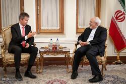 دیدار های امروز وزیر امور خارجه ایران