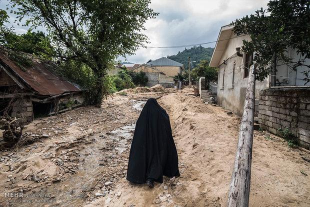 بخشدار سردشت دزفول خبر داد: قطع راه ارتباطی چند روستای دزفول بر اثر سیلاب