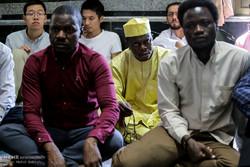 تجمع اعتراضی طلاب نسبت به کشتار مسلمانان میانمار