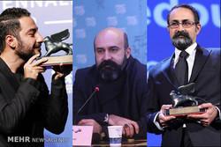 تجلیل از برادران جلیلوند و نوید محمدزاده در جشن بزرگ سینما