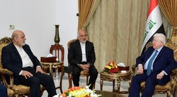 Iraqi president lauds Iran for help against terrorism