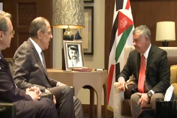 لاوروف و شاه اردن