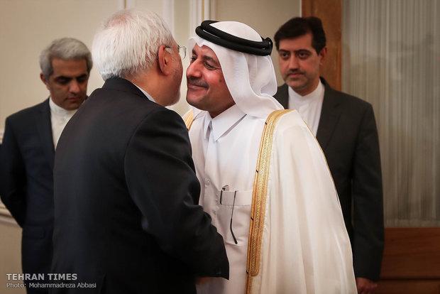 Iran's Zarif meets foreign ambassadors in Tehran