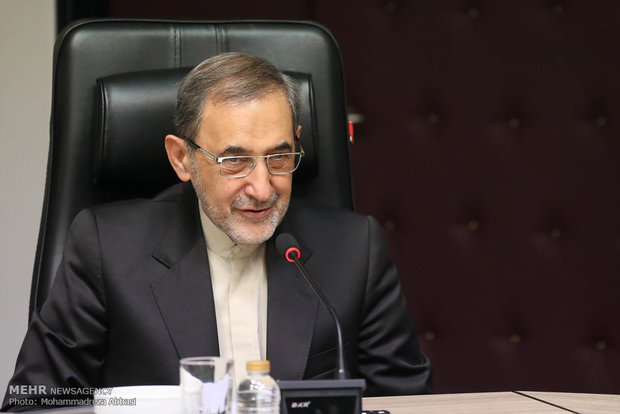 Velayati meets with ANU chancellor