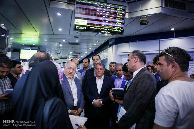 بازدید اعضای شورای شهر تهران از سینما آزادی