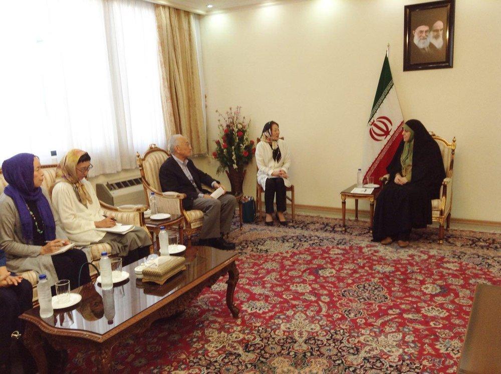 Iran, Japan discuss women's empowerment, civil rights