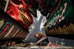 سیاهه فروشی در بازار تهران