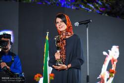 نجوم السينما الإيرانيون يتألقون في حفل اليوم الوطني للسينما