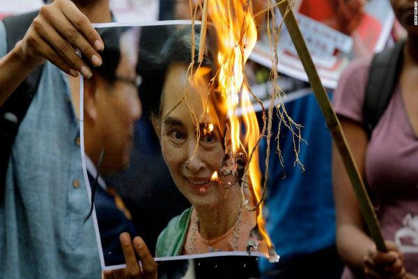 سوچی اتهام نسلکشی اقلیت مسلمان روهینگیا را نپذیرفت!