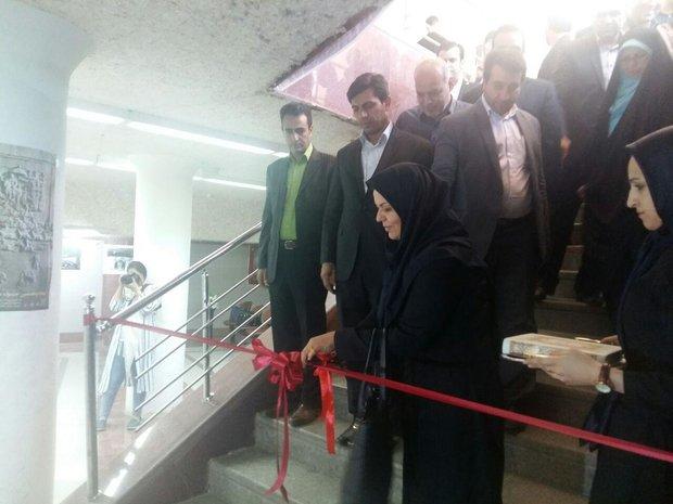 افتتاح گالری عکس جشنواره شبدیز