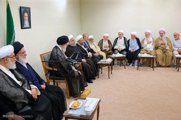 دیدار رئیس و اعضای دوره جدید مجمع تشخیص مصلحت نظام با رهبر انقلاب
