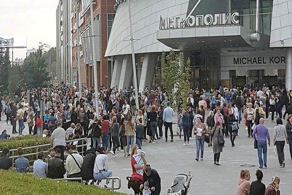 تهدید به بمب گذاری در مسکو