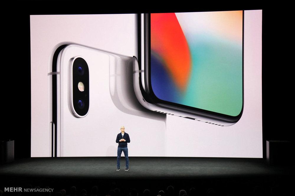 رونمایی از گوشی جدید اپل