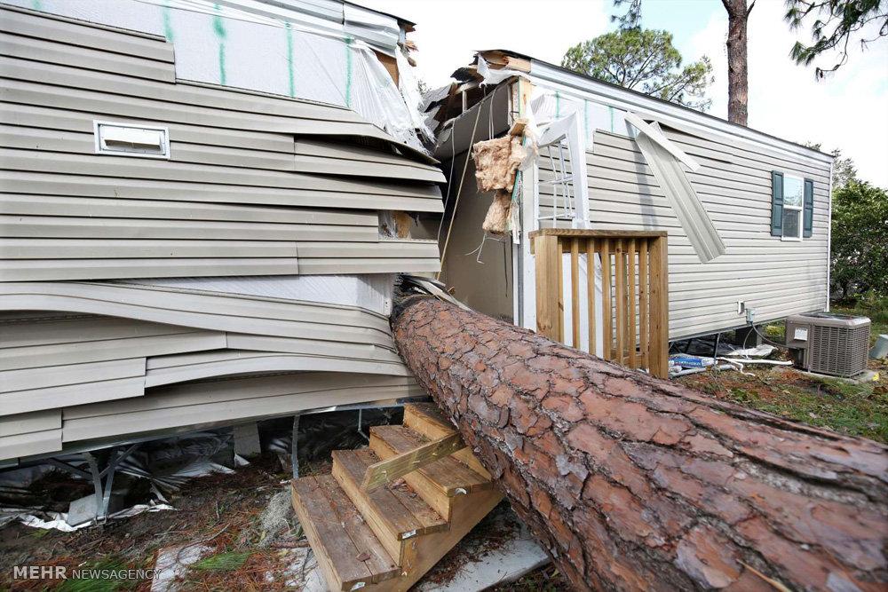 تصاویری از طوفان ایرما