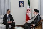 بشار اسد و مقام معظم رهبری