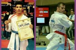 ۲ ورزشکار گلستانی در لیگ جهانی کاراته شرکت میکنند