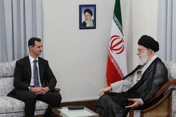 Bashar al-Asad thanks Iran's stance against terrorism