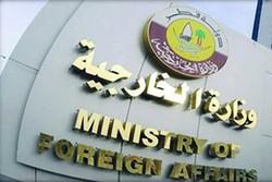 قطر تستنكر الهجوم على قصر السلام في جدة