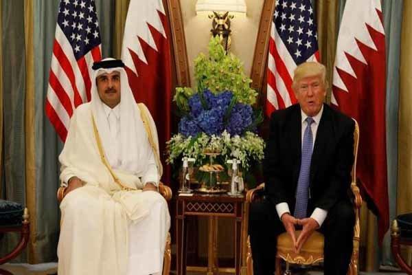 Katar Emiri Trump ile telefonda görüştü
