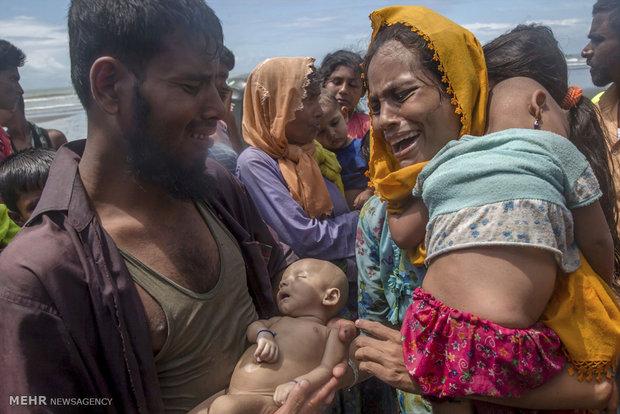 Myanmar'daki insani krizden kareler