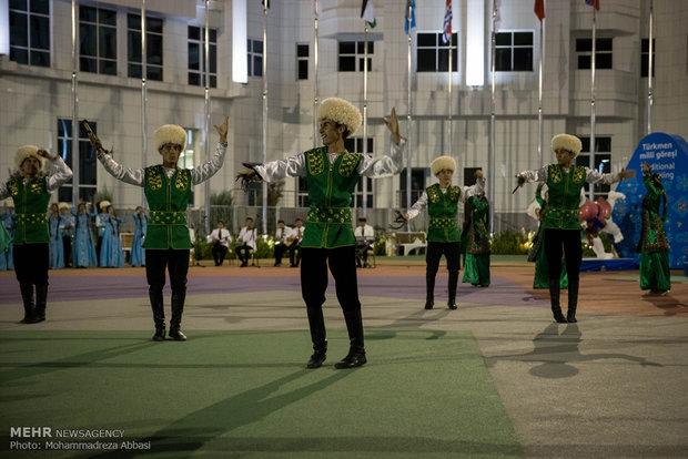 Iran's flag raised at AIMAG village