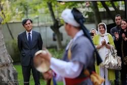 نمایشگاه آثار معرق ایرانی و اجرای موسیقی کره جنوبی