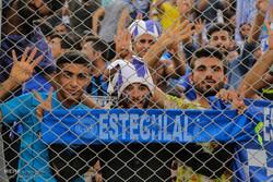 بازی فوتبال پارس جنوبی جم و استقلال تهران