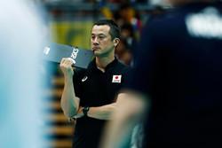 سرمربی تیم ملی والیبال ژاپن