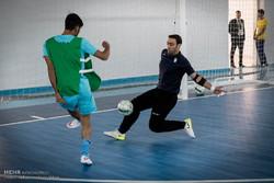 بازدید وزیر ورزش و جوانان از اردوی آماده سازی تیم ملی فوتسال