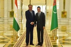 رؤسای جمهور تاجیکستان و ترکمنستان در عشقآباد دیدار کردند