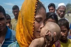 ڕێژەی ئاوارەکانی میانمار گەیشتە ٤٢١ هەزار کەس