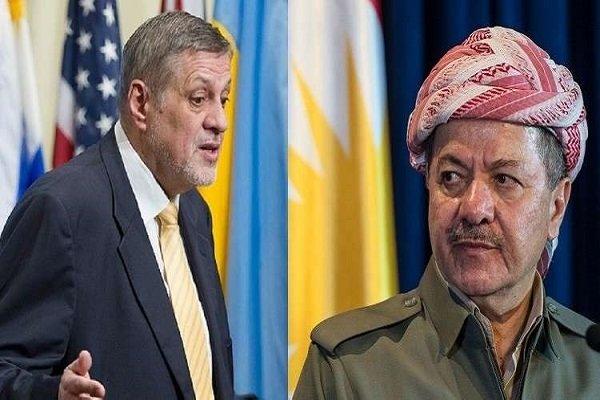 BM'den Barzani'ye diyalog çağrısı