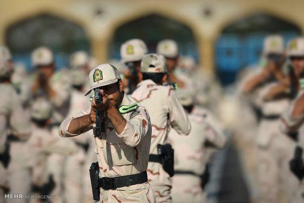 مراسم تخرج طلاب جامعة قوى الأمن الداخلي الإيراني برعاية قائد الثورة الإسلامية