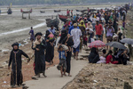 بارشوں نے روہنگیا مسلمانوں کی مشکلات میں اضافہ کردیا