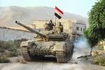 دفع یورش تروریستها از سوی ارتش سوریه با حمایت هوایی روسیه