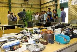 بازدید دانش آموزان انجمن اسلامی کرمانشاه از مراکز آموزش فنی و حرفه ای