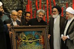 مراسم اربعین شهید حججی در قم برگزار شد