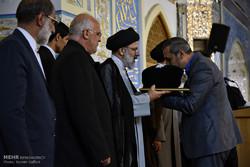 آیین اهدای پرچم متبرک به 500 هیئت مذهبی سراسر کشور