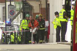 انفجار در متروی لندن